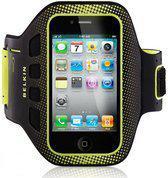 Belkin EaseFit Sport Armband voor de Apple iPhone 4 en de Apple iPhone 4S (black/lime) (F8Z894CWC00)