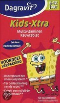 Dagravit Kids-Xtra 6-12 jaar - 60 Kauwtabletten - Multivitamine