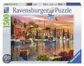Ravensburger Mediterrane haven - Puzzel