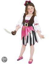 Roze piraten kostuum voor meisjes 110-122 (4-6 jaar)