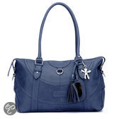Little Company - Black Label Totem Tote Bag Luiertas - Donkerblauw