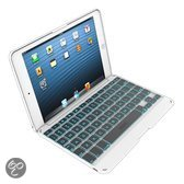 ZAGGkeys Folio Bluetooth Keyboard Case White - Apple iPad Mini