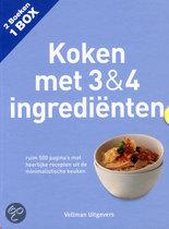 Koken met 3 & 4 ingredienten