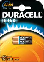 Duracell Ultra - 2xAAAA