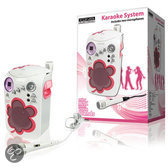 König HAV-KCD12 - Karaoke Set met CD Player - Roze