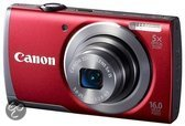Canon PowerShot A3500 IS - Rood