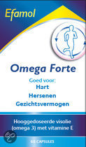 Efamol Omega forte - 60 Tabletten - Voedingssupplement