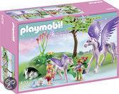 Playmobil Koningskinderen met pegasus en veulen - 5478