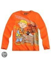 Bob De Bouwer Jongensshirt - Oranje - Maat 110