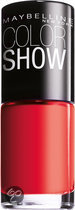 Maybelline Color Show - 349 Power Red - Rood - Nagellak