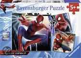 Spider-man 2 - Kinderpuzzel - 3x 49 Stukjes