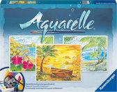 Aquarelle - Strandparadijs