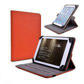 Tuff-Luv Uni-Spin case 9-10 inch Android Tablets oranje
