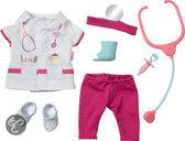 Baby Born Luxe Dokter Kledingset - Poppenkleding