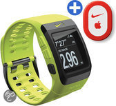 Nike+ GPS Sporthorloge met schoensensor - Geel