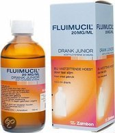 Fluimucil Drank Junior 20mg/ml - 100 ml - Hoestdrank
