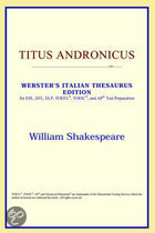 Titus Andronicus (Webster's Italian Thes