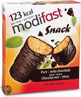 Modifast Control Pure & Witte Chocolade - 6 stuks - Snack