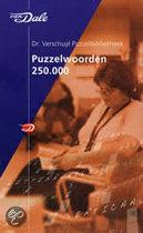 Van Dale Dr. Verschuyl Puzzelwoorden 250.000