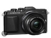 Olympus PEN E-PL7 + EZ-M 14-42mm Pancake Zoom Kit  - Systeemcamera - Zwart