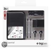 Foto van Bigben Accessoirepakket Zwart 3DS + Dsi