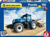 Schmidt New Holland Landbouw Tractor - Puzzel