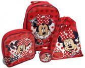 Minnie Mouse Mad about Minnie reistassen set