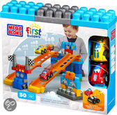 Mega Bloks First Builders Fast Track Racing Team