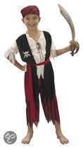 Piraat - Kostuum - Maat 128/140