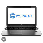 HP ProBook 450 G1 i5-4200M 15.6i HD 4GBDDR3 RAM 500GB 5400RPM HDD UMA DVDRW FPR Win7 Pro 64 preload & Win8 Pro 64 on DVD 1y wty