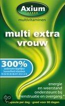 Axium Multi Vrouw Extra - 60 Capsules - Multivitaminen