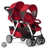 Chicco Together - Tweeling kinderwagen - Rood