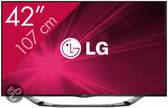 LG 42LA6908 - 3D led-tv - 42 inch - Full HD - Smart tv