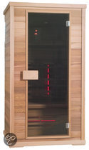 Exclusive Hemlock Two full-spectrum sauna: 110 x 100 x 200 cm