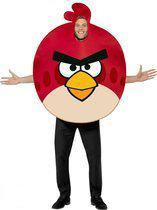 Rood Angry birds kostuum 48-50 (m)