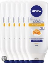 NIVEA Onder de Douche Milk & Honey - 250 ml - Bodylotion