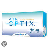 Air Optix Aqua 6PK Maandlenzen - Sterkte: -1,25