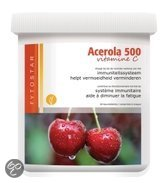 Fytostar Voedingssupplementen Acerola vitamine C 500 kauw