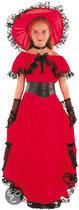 Luxe Scarlet - Kostuum - 7-9 jaar