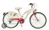 Yakari Hello Kitty - Kinderfiets - 24 inch - Meisjes - Wit