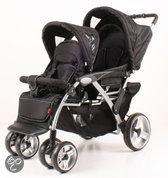 KEES - Tandem Luxe Kinderwagen - Zwart