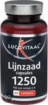 Lucovitaal Lijnzaadolie - 60 capsules - Voedingssuplementen