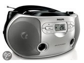 Philips AZ1046 MP3-CD CD-soundmachine