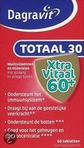 Dagravit Totaal 30 Xtra Vitaal 60+ - 60 Tabletten - Multivitamine