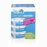 Tommee Tippee - Sangenic Nursery Essentials MK5 Navulling 3 stuks  - Wit