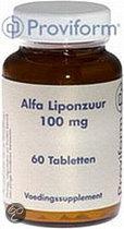 Proviform Alfa Liponzuur 100mg