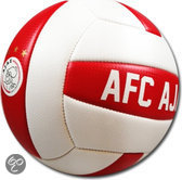 Beachbal Ajax gr 5 rood-wit