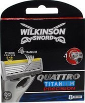 Wilkinson Sword Quattro Titanium Precision - Scheermesjes