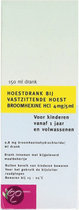 Healthypharm Broomhexine 4 mg - 150 ml -  Hoestdrank