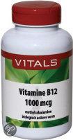 Vitals Vitamine B12 Methylcobalamine 1000 mcg - 100 zuigtabletten
